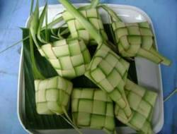 ketupat nasi (uncooked)
