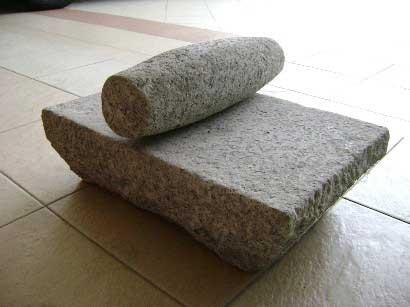 Batu giling or the grinding stone
