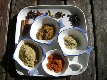 Nasi Kandar Ingredients