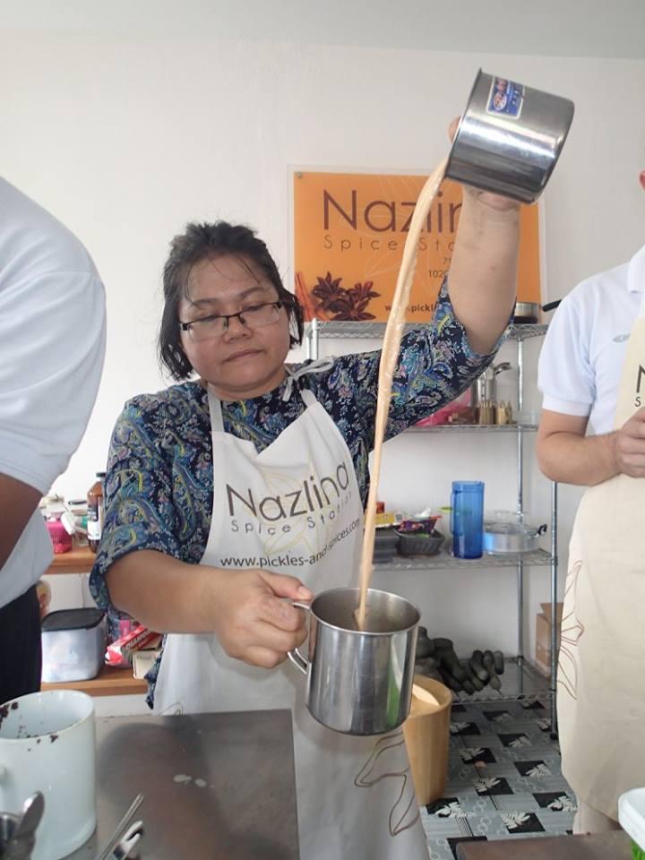 Making teh tarik