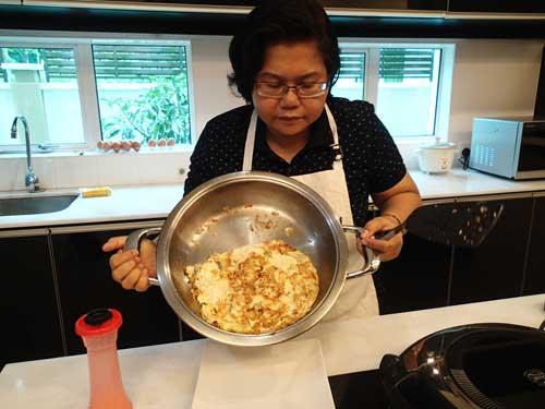 Omelet ready!