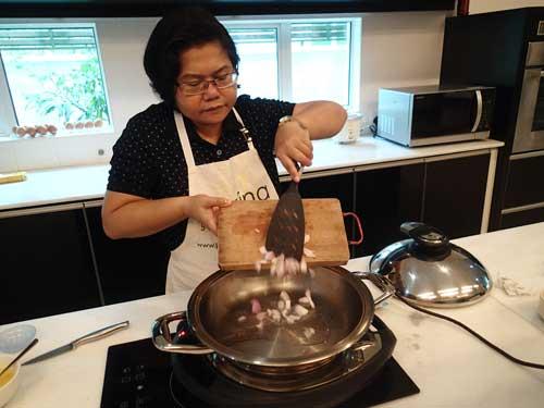 Adding onion