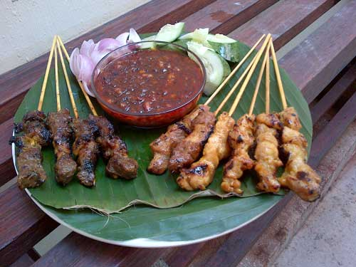BBQ sate