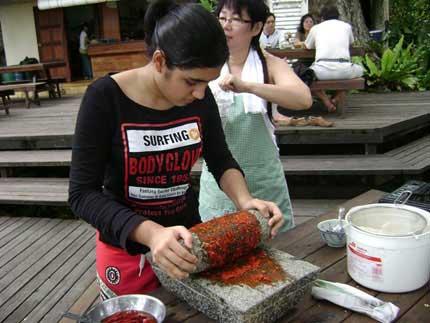 children cooking class