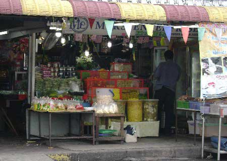 Where to buy fruit pickles in Penang