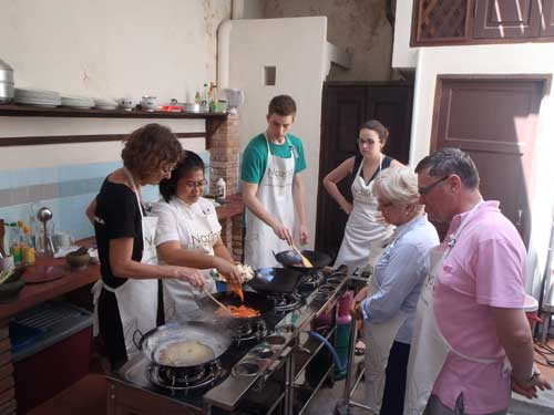 One of the many cooking classes at in Nazlina Spice Station