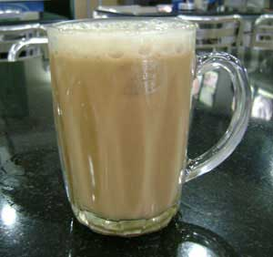 Teh Tarik, Indian styled milk tea