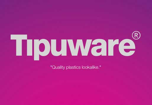 fake tupperware ad