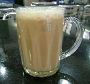 Teh Tarik, Indian styled milk tea