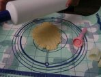 making pineapple tart pastry