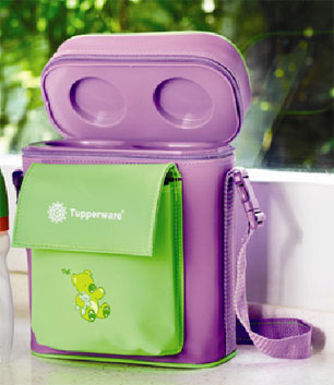 Tupperware baby bag