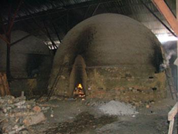 Charcoal production Kuala Sepetang