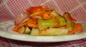Spicy Cucumber Pickles