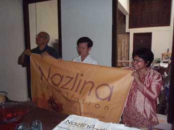 Opening Nazlina Spice Station