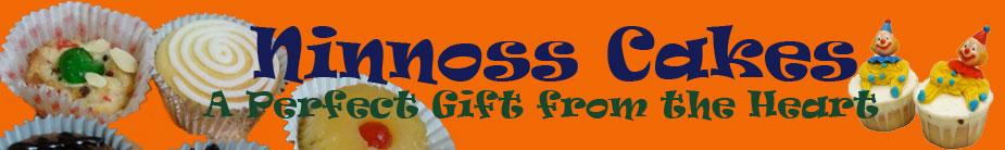 logo for Ninnoss Cakes