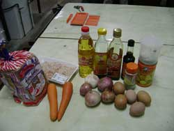 ingredients for the nyonya snack