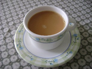 Milky Ginger Tea