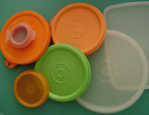 Tupperware round seals