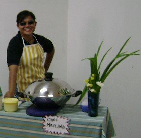 Nazlina the chef